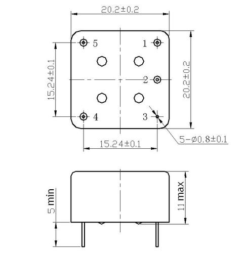 syn020-100mhz超低相噪恒温晶振