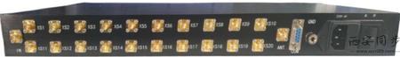 低相噪频标分配器后面板图