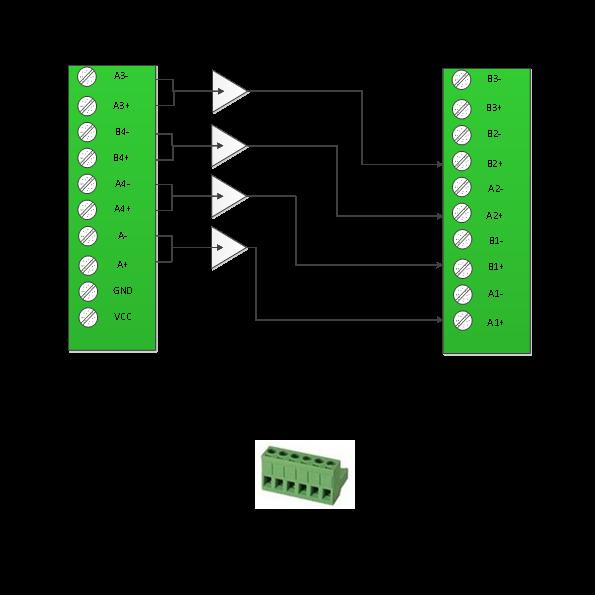 编码器和plc之间的差分信号与单端信号的互转说明