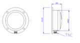 SYN108A型GPS北斗双模吸盘式授时天线