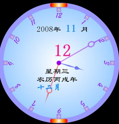 gps同步时钟图